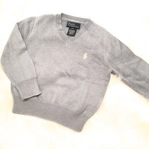 Boy's Polo by Ralph Lauren v-neck sweater size:2T